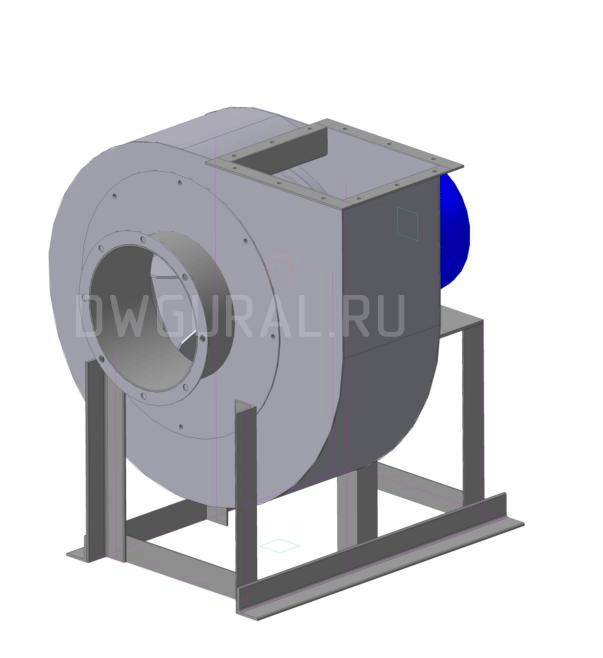 Чертежи вентилятора ВР140-40 № 4 Исполнение 1