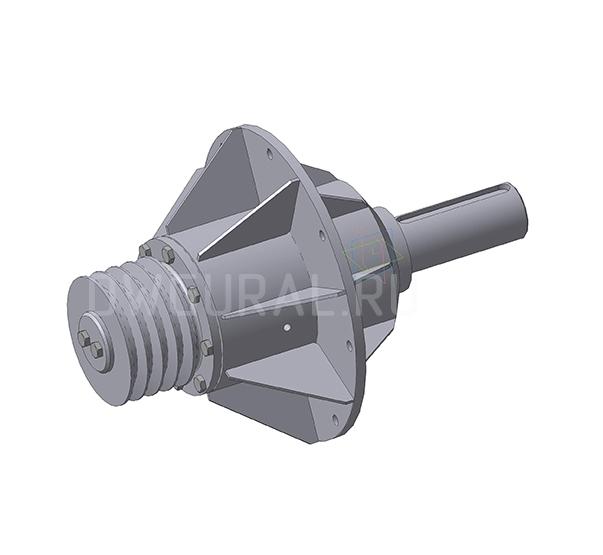 3D модель Корпуса подшипников крыльчатки ВР120 45 №6,3