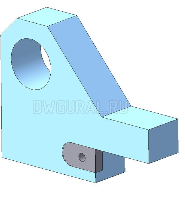 стойка штампа снятия фаски