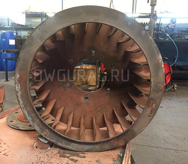фото  Рабочего колеса печного вентилятора