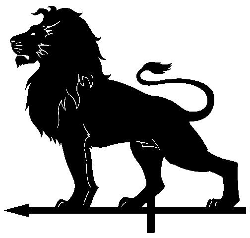 Dxf для ЧПУ  Растровый лев
